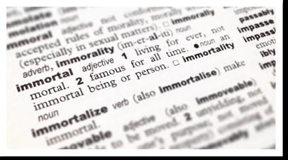 :: I'm mortal